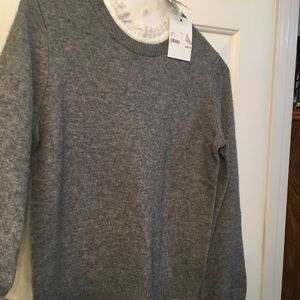 Joke sweater New w tag $298 Heather Gray